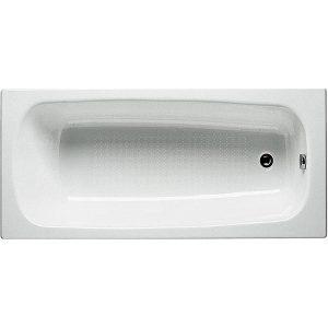 Фото товара Чугунная ванна Roca Continental 160х70 21291200R с антискользящим покрытием.
