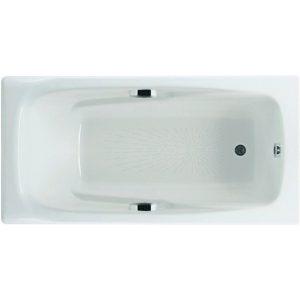 Фото товара Чугунная ванна Roca Ming 170х85 2302G000R с антискользящим покрытием.