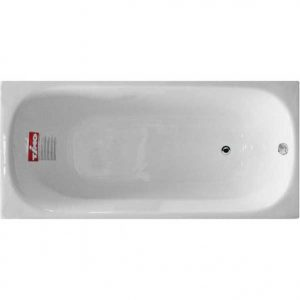 Фото товара Чугунная ванна Timo Standard 3V 150х70 с антискользящим покрытием.