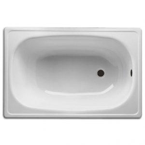 Фото товара Стальная ванна BLB Europa Mini 105х70 B15ESLS Белая.