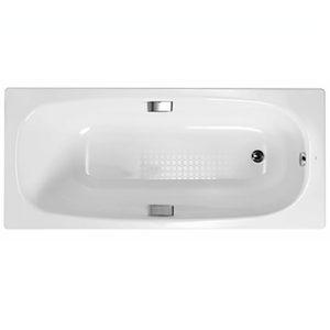 Фото товара Стальная ванна Gala Vanessa 150х75 с антискользящим покрытием.