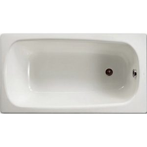Фото товара Стальная ванна Roca Contesa 120х70 212106001 без антискользящего покрытия.