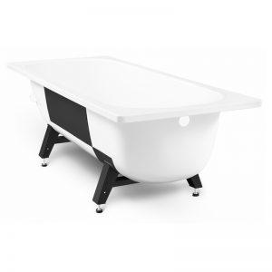 Фото товара Стальная ванна ВИЗ Tervo 150х70 Белый лотос.