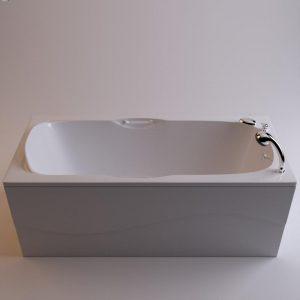 Фото товара Ванна из искусственного мрамора Фэма Стиль Алассио 170 Белая.